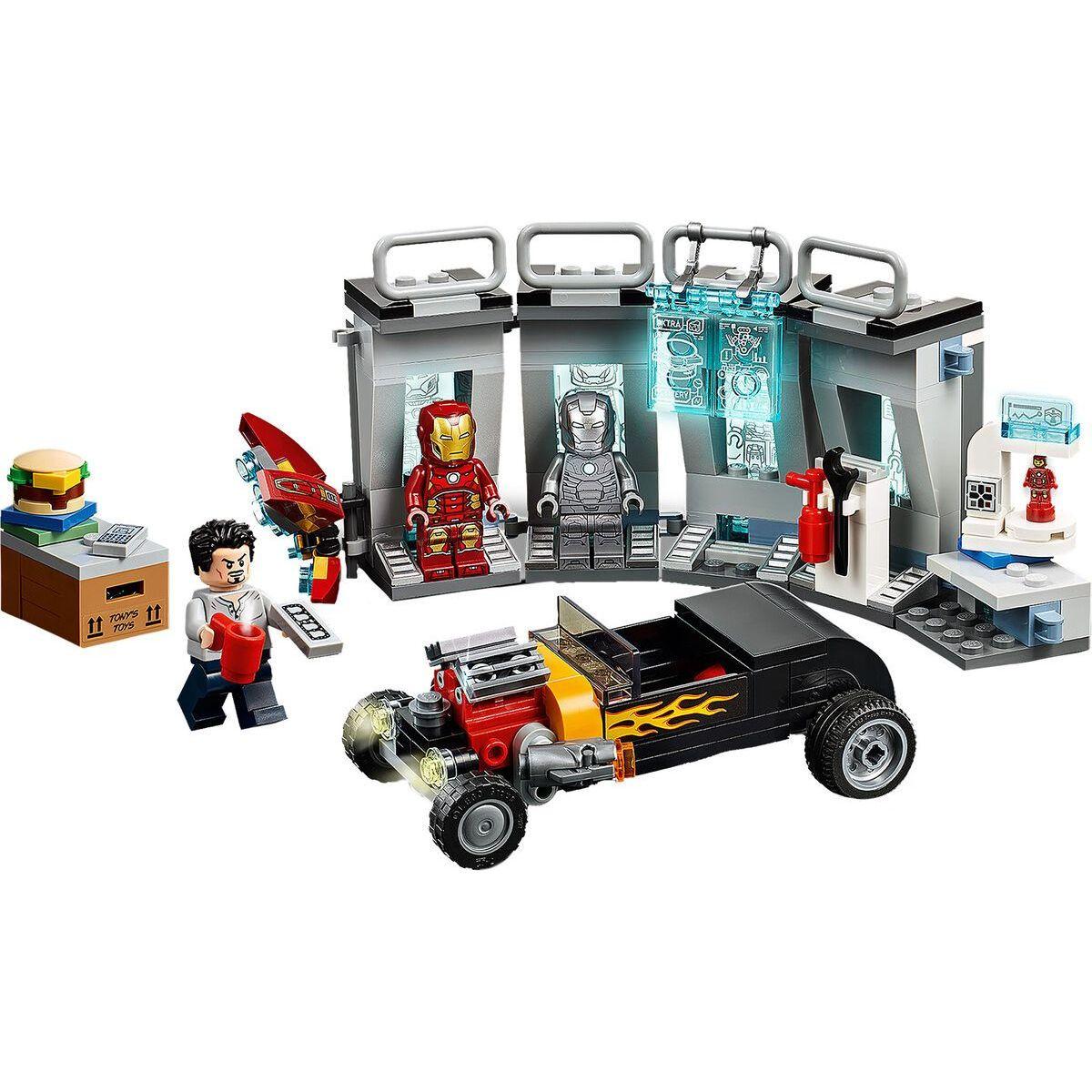 LEGO Super Heroes 76167 Zbrojnice Iron Mana