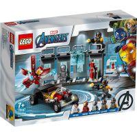 LEGO Super Heroes 76167 Zbrojnice Iron Mana 6