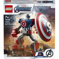 LEGO Super Heroes 76168 Captain America v obrněném robotu 2