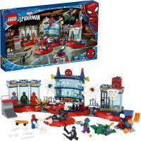 LEGO Super Heroes Útok na pavoučí doupě