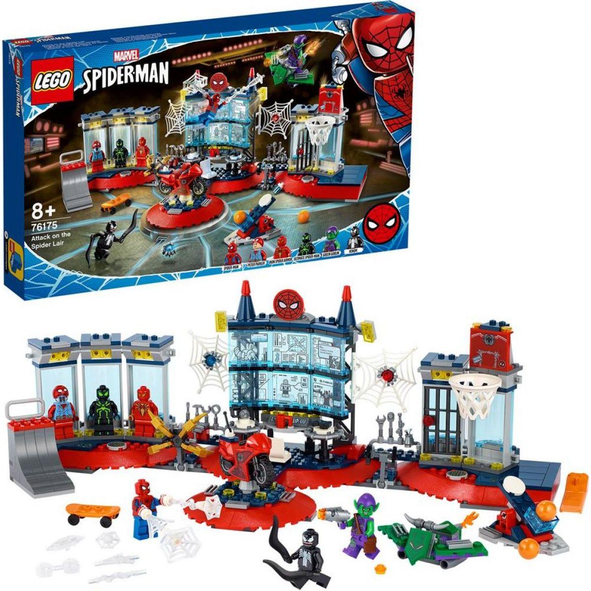 LEGO® Super Heroes Útok na pavúčí brloh