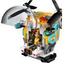 LEGO Super Heroes Girls 41234 Bumblebee a helikoptéra 4