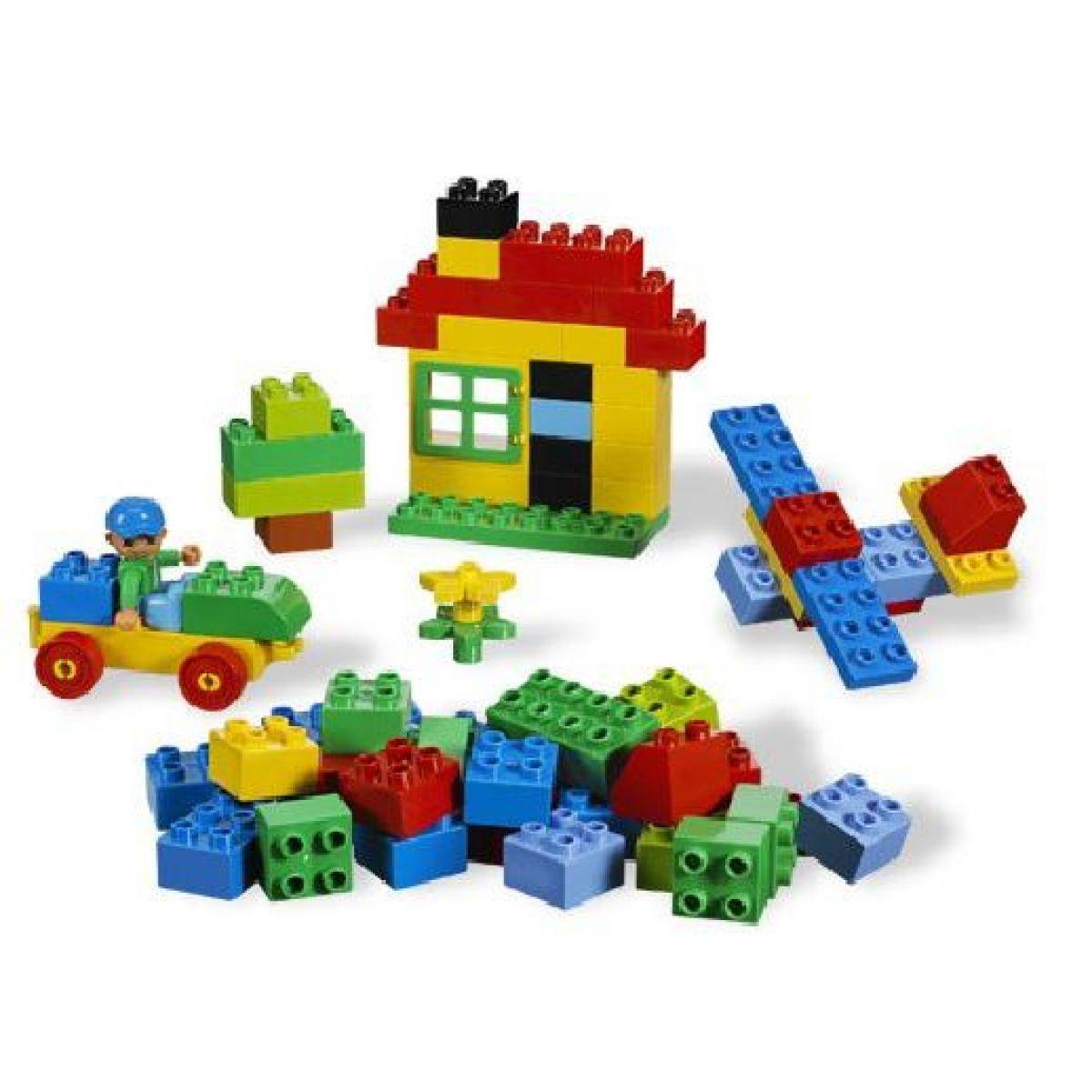 LEGO Kostičky 5899 Stavební sada – domy