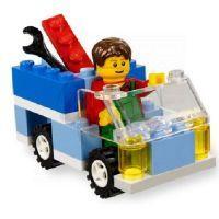 LEGO Kostičky 5899 Stavební sada – domy 3