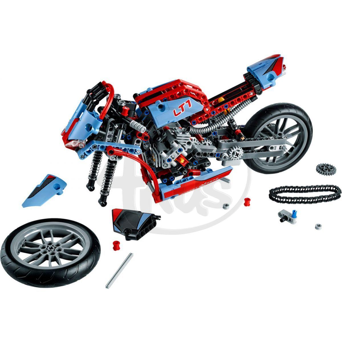 lego technic 42036 silni n motorka 4kids. Black Bedroom Furniture Sets. Home Design Ideas