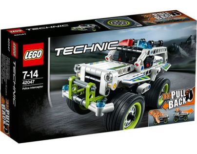 LEGO Technic 42047 Policejní zásahový vůz
