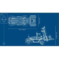 LEGO Technic 42079 Výkonný vysokozdvižný vozík 5
