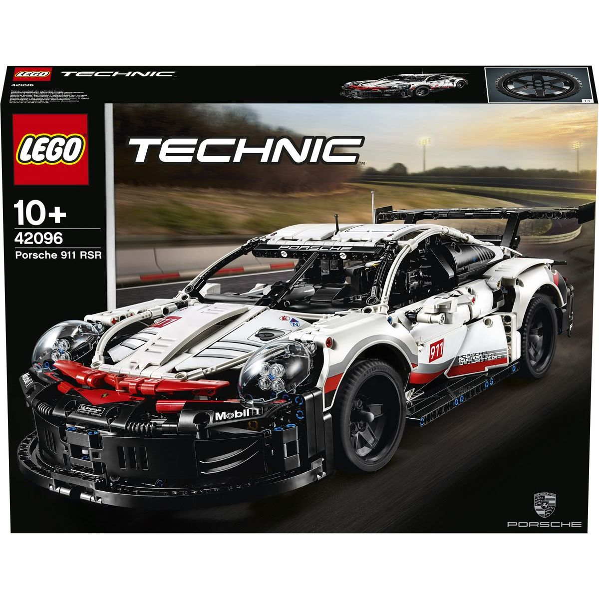 LEGO Technic 42096 Preliminary GT Race Car