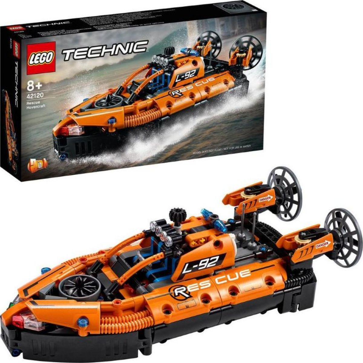 LEGO® Technic 42120 Záchranné vznášadlo