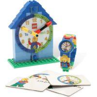 LEGO Time Teacher Výuková stavebnice hodin a hodinky modré
