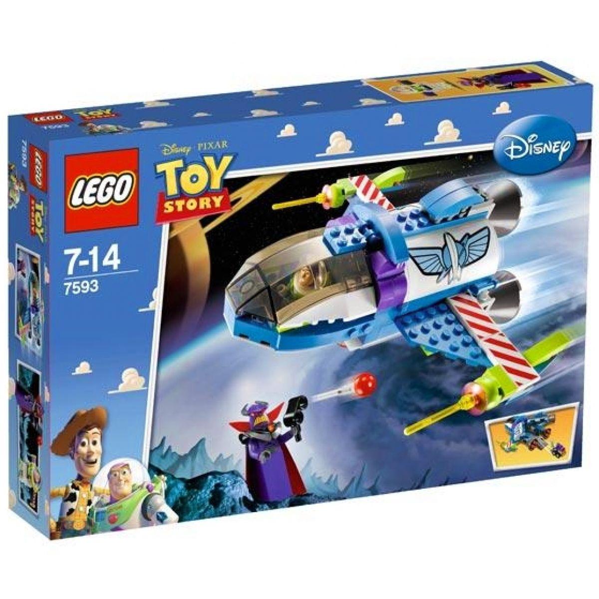 LEGO 7593 Toy Story Buzzův vesmírný velitelský raketoplán
