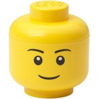 LEGO úložná hlava mini chlapec