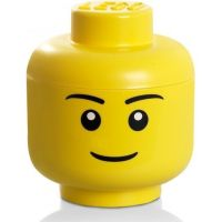LEGO Úložná hlava (velikost L) - chlapec
