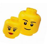 LEGO Úložná hlava Velikost L Chlapec 6