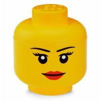 LEGO Úložná hlava Velikost L Dívka