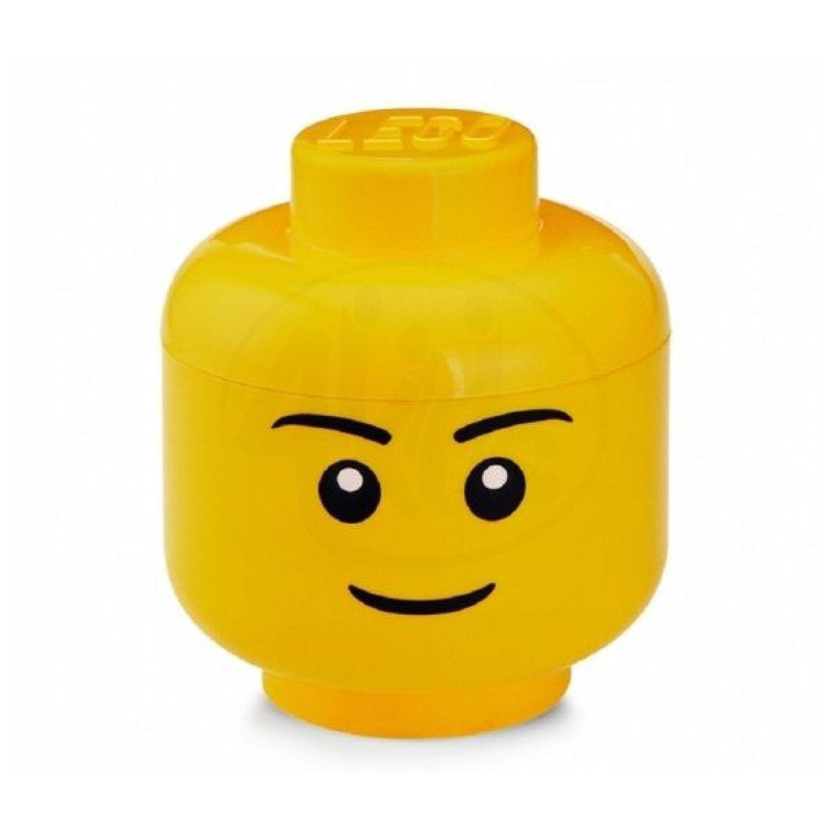 Room LEGO úložná hlava velikost S chlapec