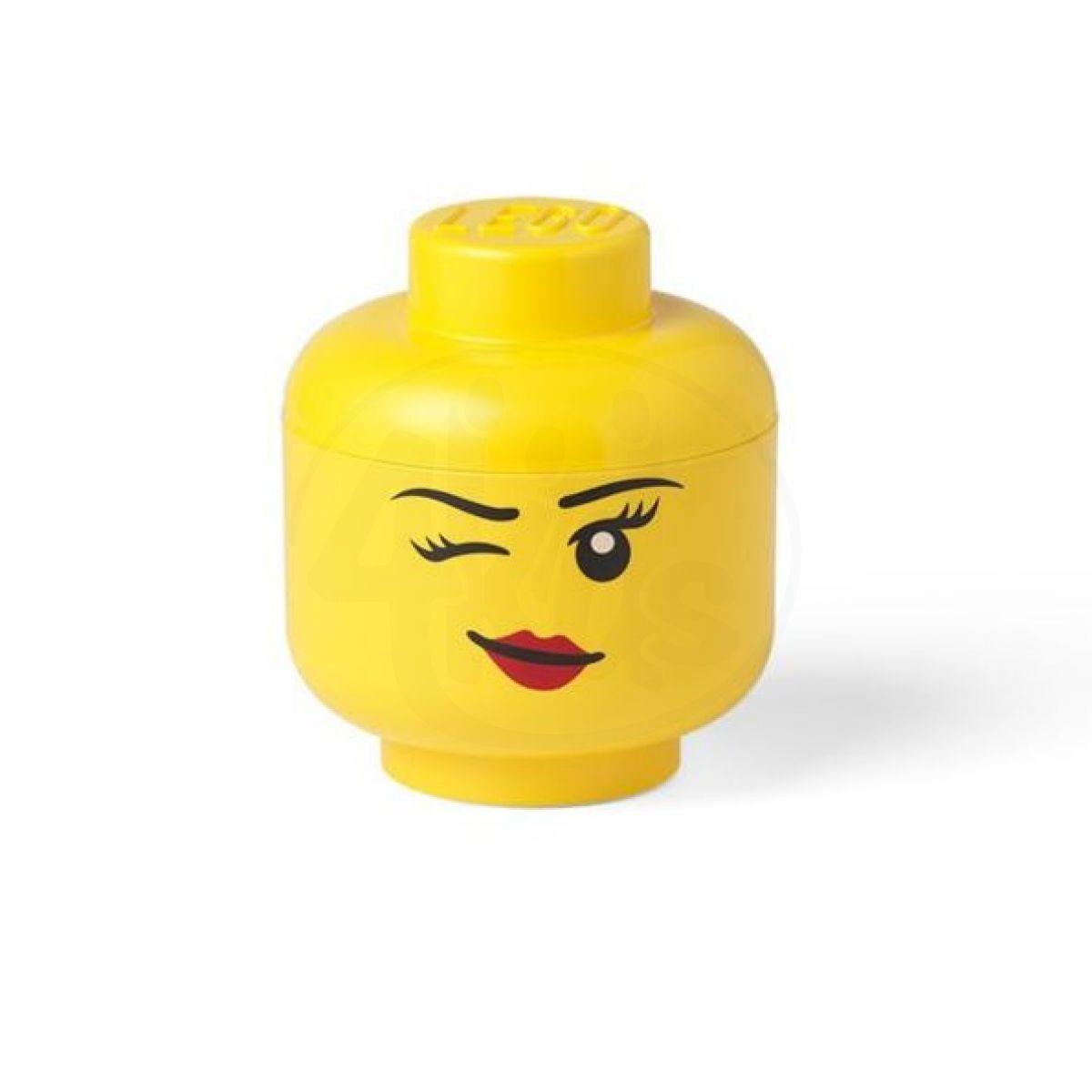 Room LEGO úložná hlava velikost S Whinky