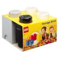 LEGO úložné boxy Multi-Pack 3 ks černá, bílá, šedá 2