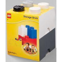 LEGO úložné boxy Multi-Pack 4 ks čierna, biela, šedá - Poškodený obal 2