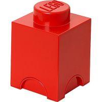 LEGO Úložný box 12,5 x 12,5 x 18 cm Červená