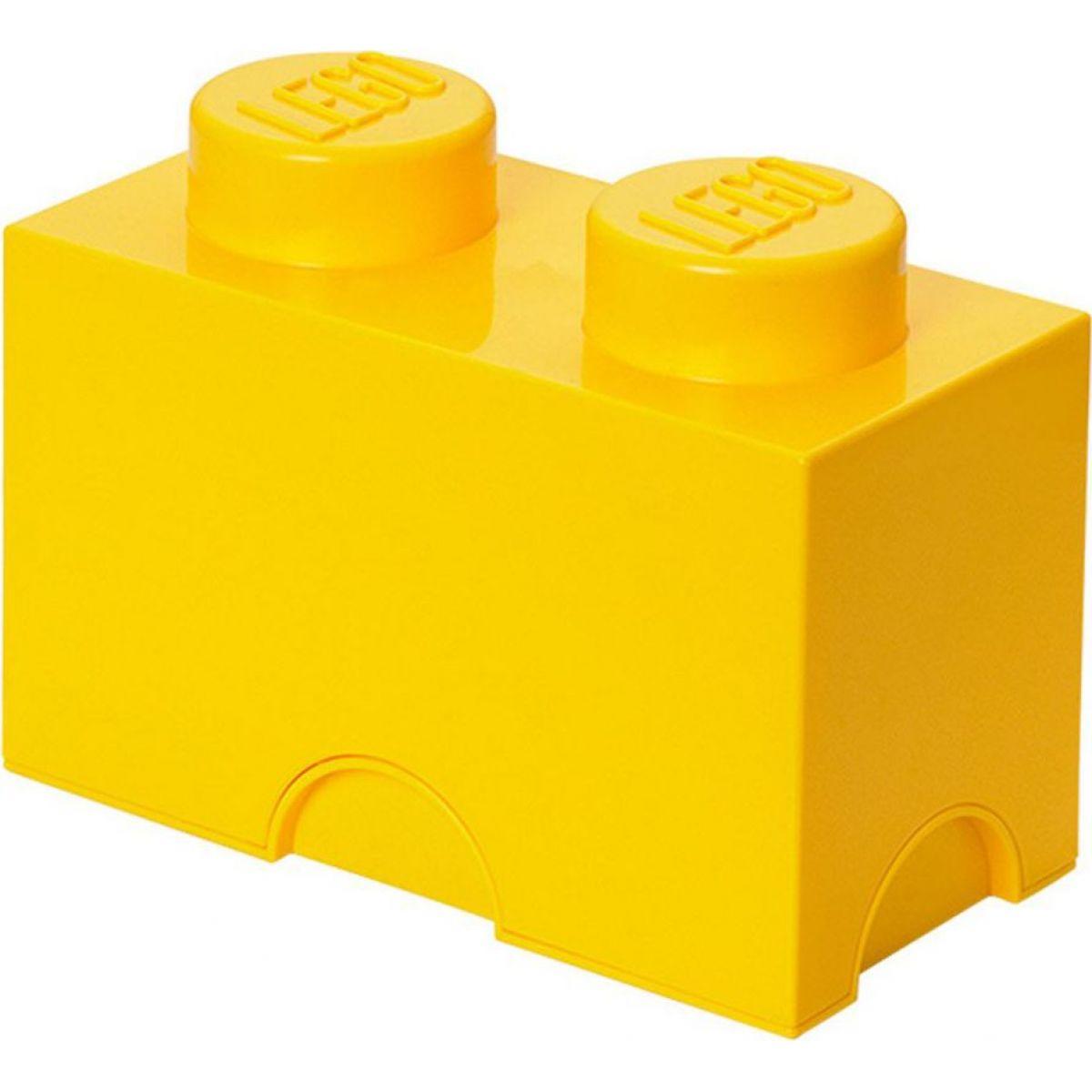 LEGO Úložný box 12,5 x 25 x 18 cm Žlutá