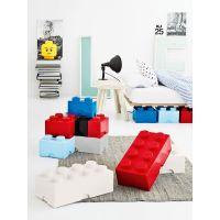 LEGO Úložný box 25 x 25 x 18 cm Růžová 2
