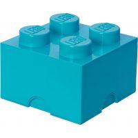 LEGO Úložný box 25 x 25 x 18 cm Azurová