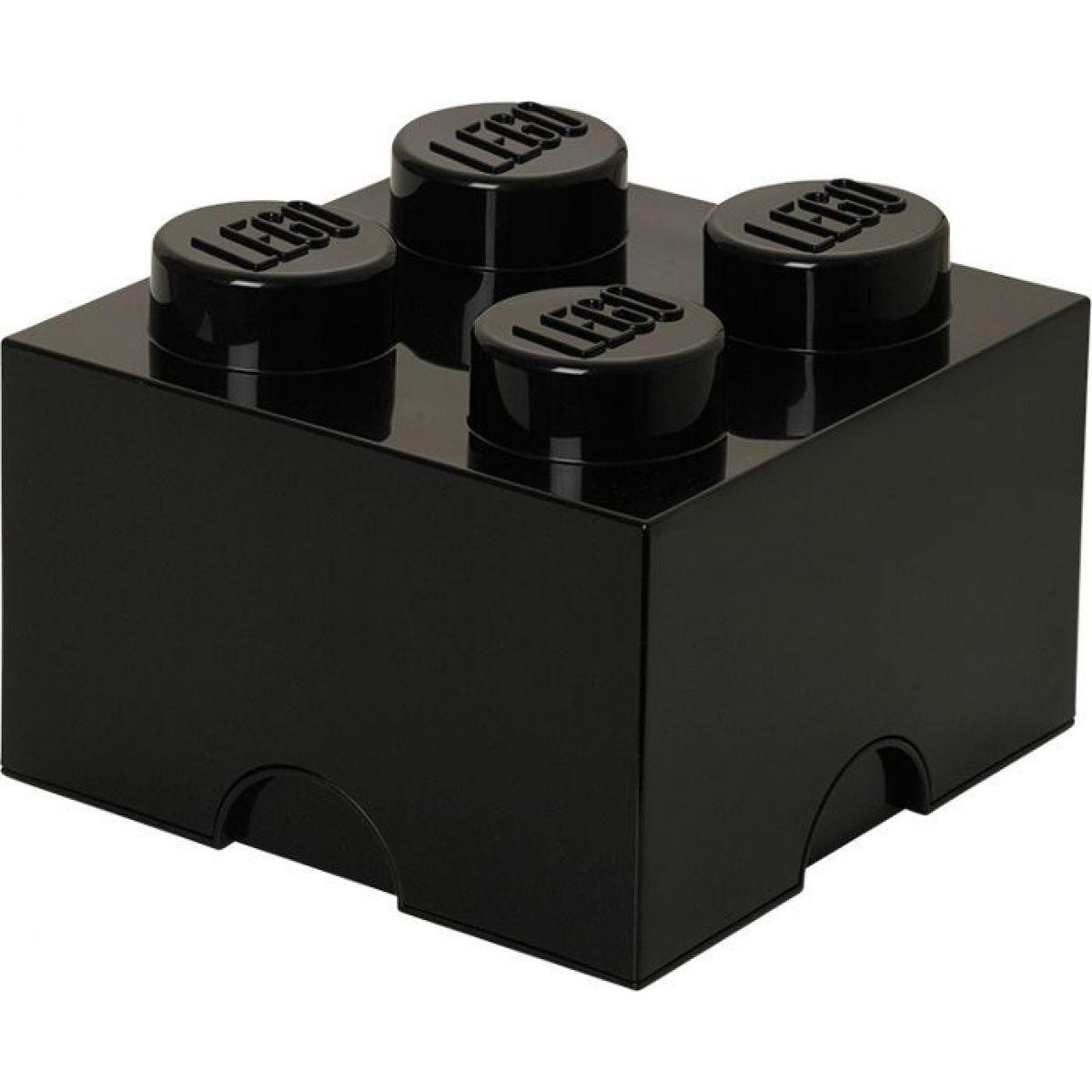 LEGO Úložný box 25 x 25 x 18 cm Černá