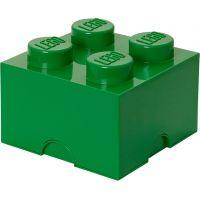 LEGO Úložný box 25 x 25 x 18 cm Tmavě zelená