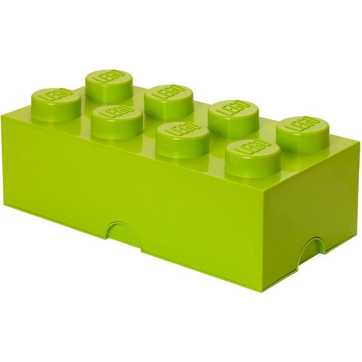 LEGO Úložný box bez šuplíku 25 x 50 x 18 cm Světle zelená