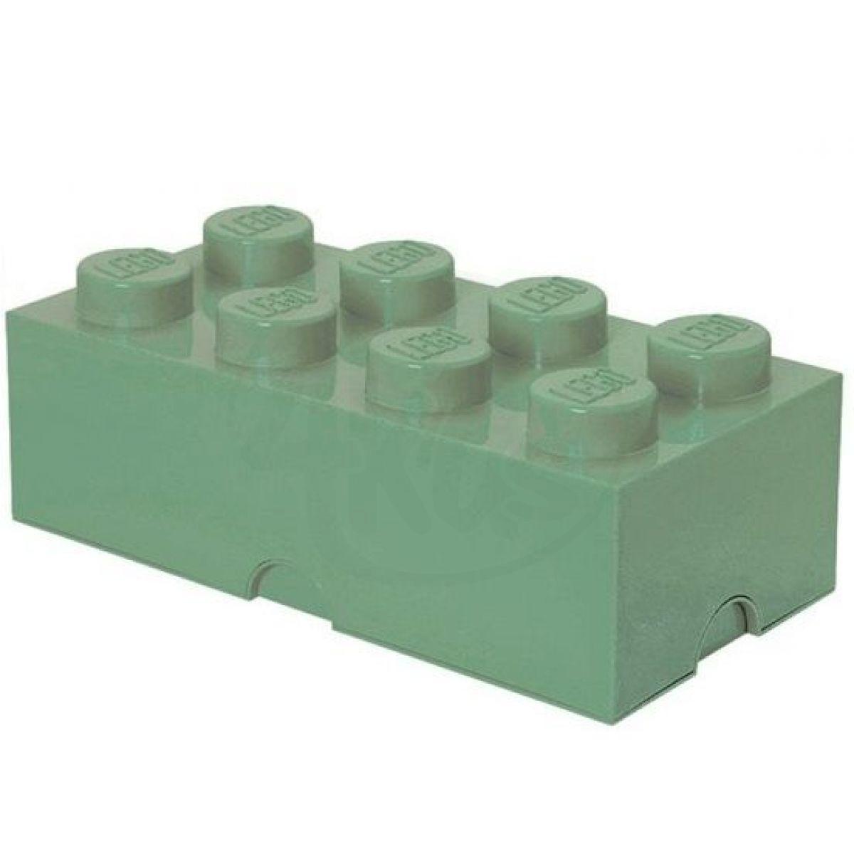 LEGO Úložný box 25 x 50 x 18 cm Army zelená