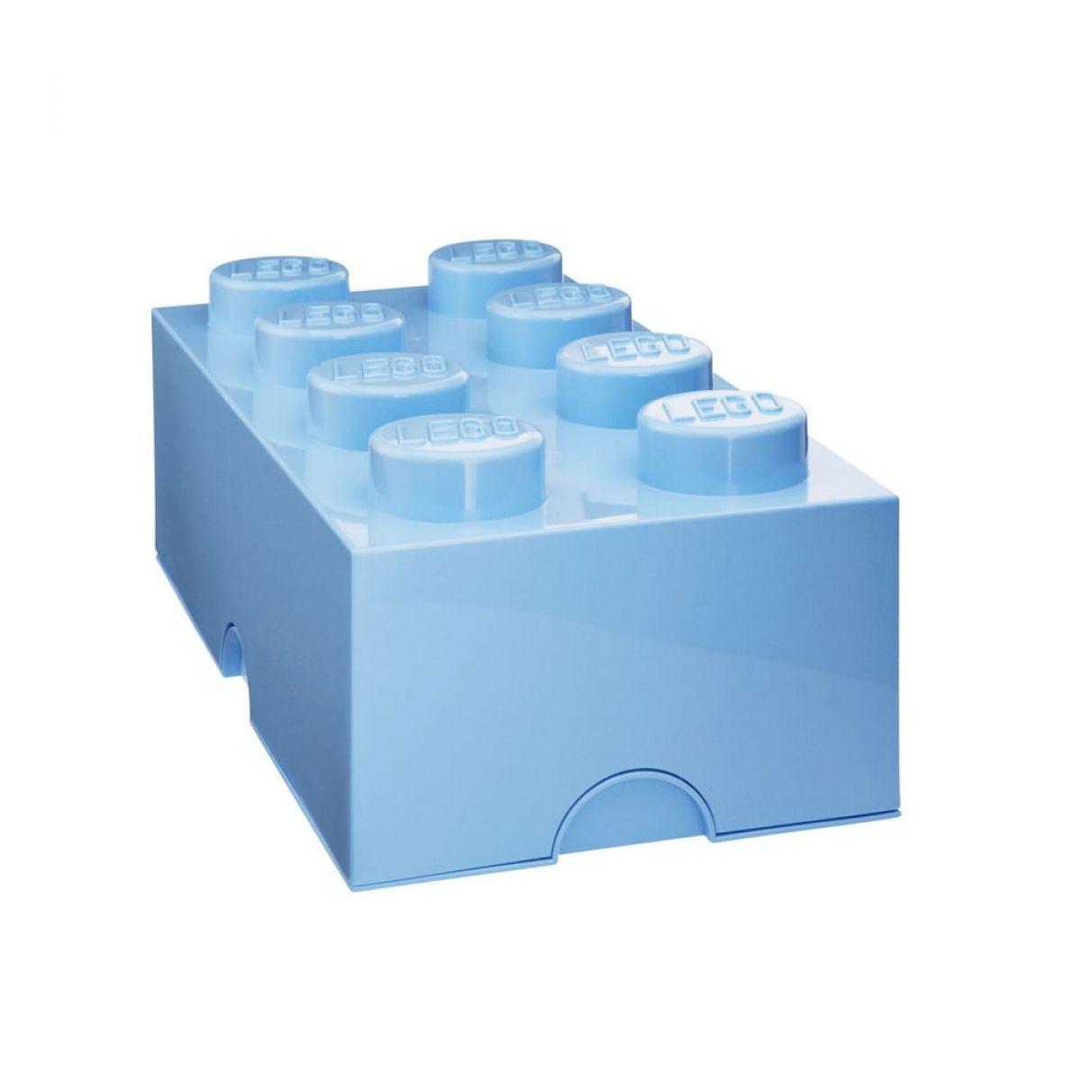 LEGO Úložný box 25 x 50 x 18 cm Světle modrá