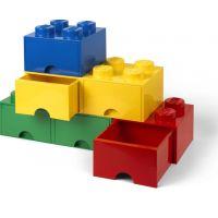 LEGO Úložný box 8 se šuplíky Červená 5