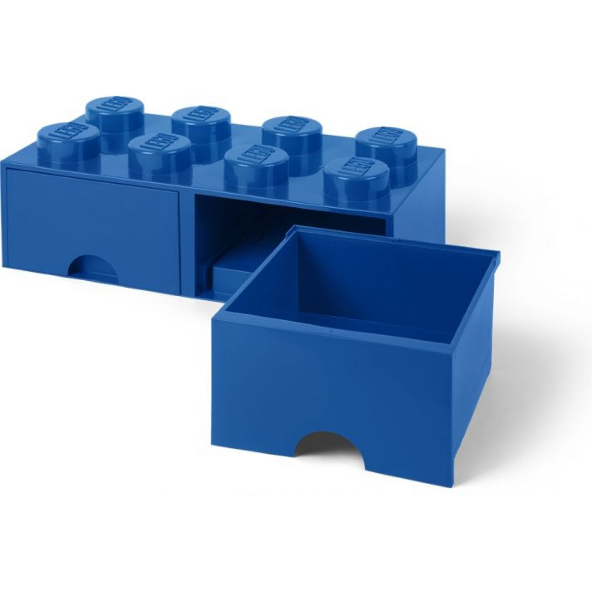 LEGO Úložný box 8 se šuplíky Modrá