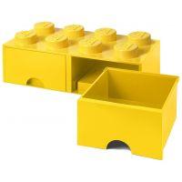 LEGO Úložný box 8 se šuplíky žlutá