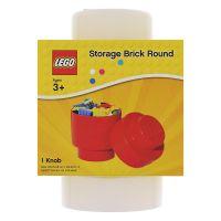 LEGO úložný box guľatý 12,3 x 18,3 cm biela 2