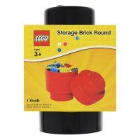 LEGO úložný box guľatý 12,3 x 18,3 cm čierna 2