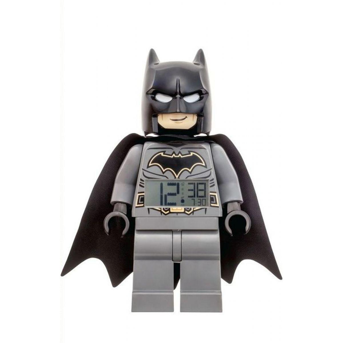 LEGO® DC Super Heroes Batman hodiny s budíkem 1064