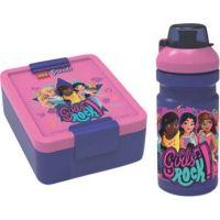 LEGO® Friends Girls Rock svačinový set fialový