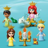 LEGO® I Disney Princess™ 43193 Ariel, Kráska, Popelka a Tiana a jejich pohádková kniha dobrodružství 6