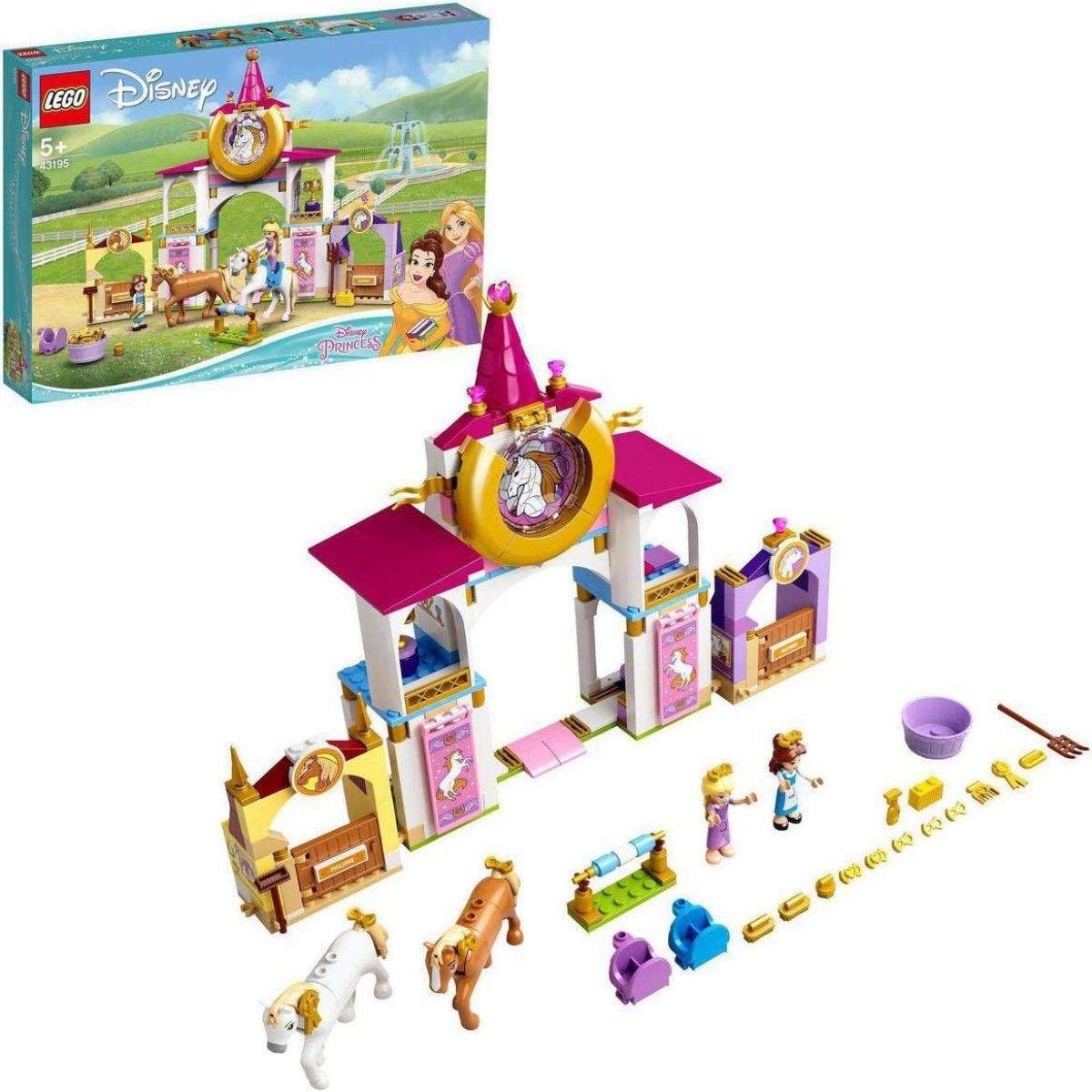 LEGO® Aj Disney Princess™ 43195 Kráľovské stajne Krásky a Rapunzel