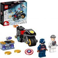 LEGO® Marvel Avengers 76189 Captain America vs. Hydra