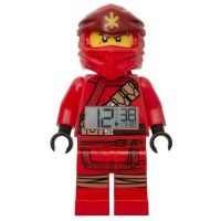 LEGO® Ninjago Kai 2019 hodiny s budíkem
