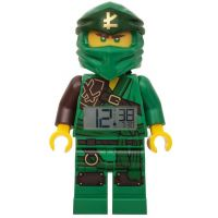 LEGO® Ninjago Lloyd 2019 hodiny s budíkem