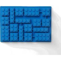LEGO® silikonová forma na led modrá