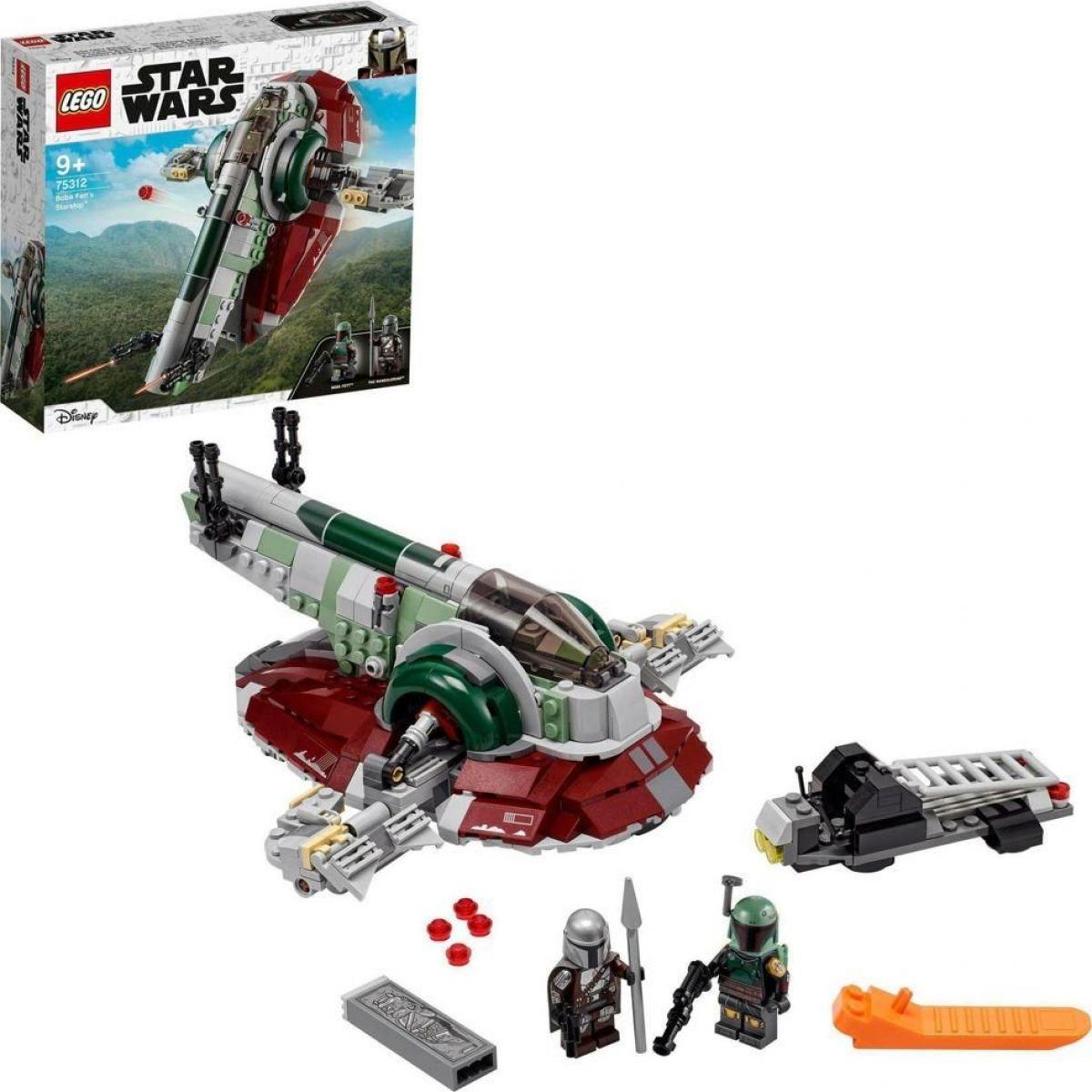 LEGO® Star Wars™ 75312 Boba Fett a jeho kosmická loď