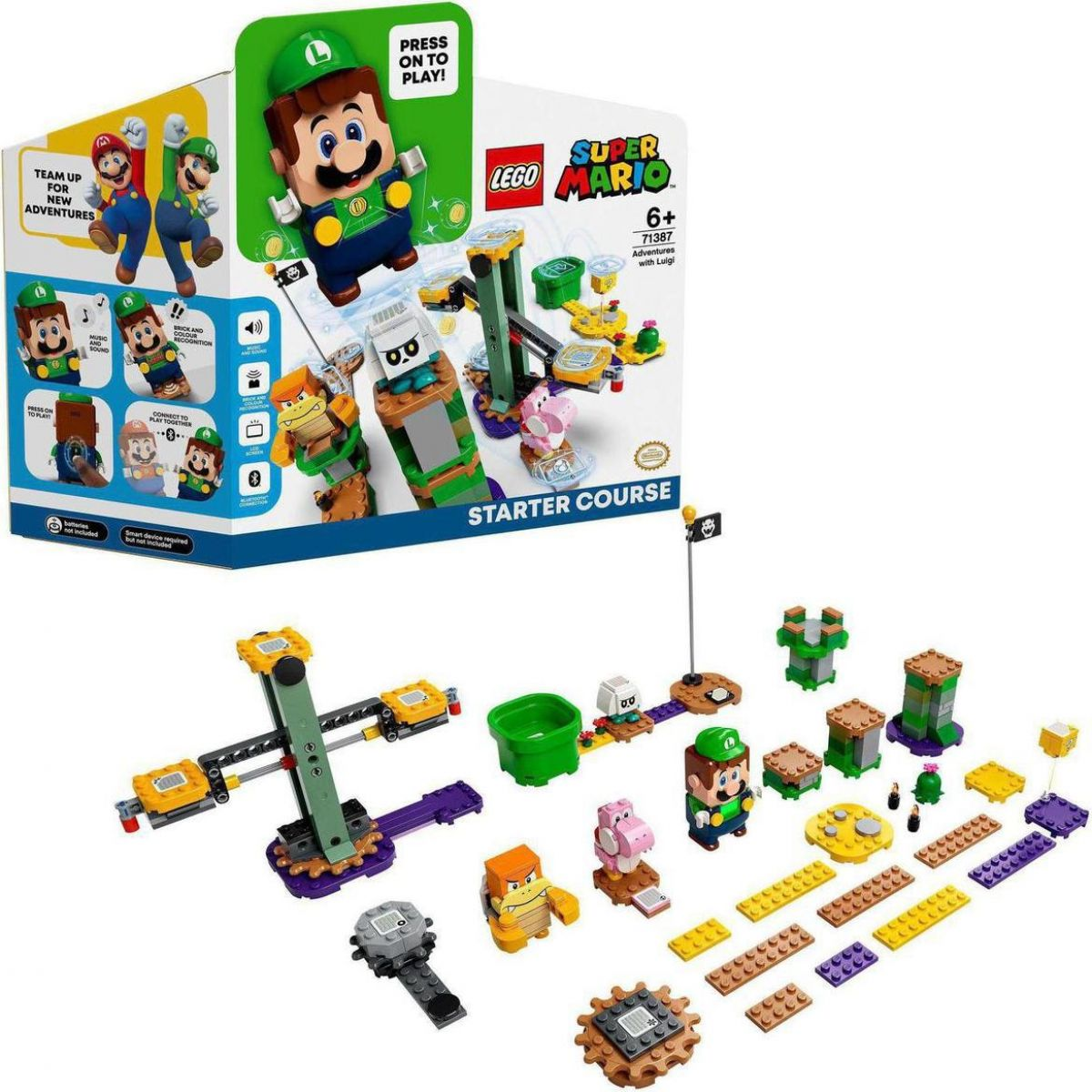 LEGO® Super Mario™ 71387 Dobrodružství s Luigim startovací set