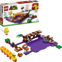 LEGO® Super Mario™ 71383 Wiggler a jedovatý močiar rozširujúci set