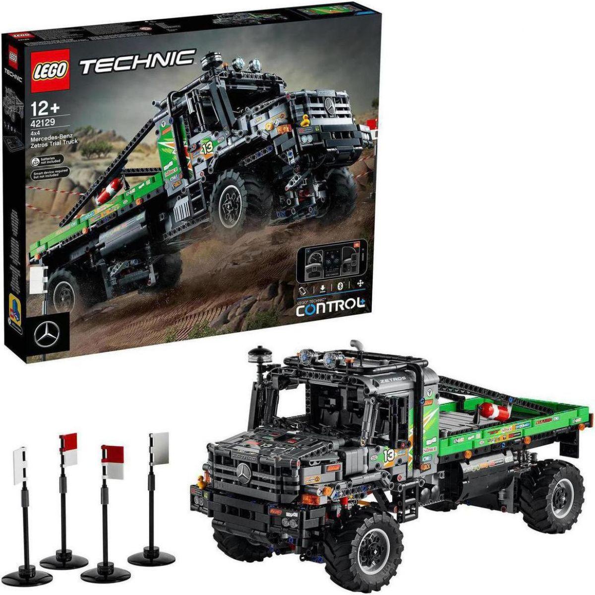 LEGO® Technic 42129 Truck trialový vůz Mercedes-Benz Zetros 4 x 4