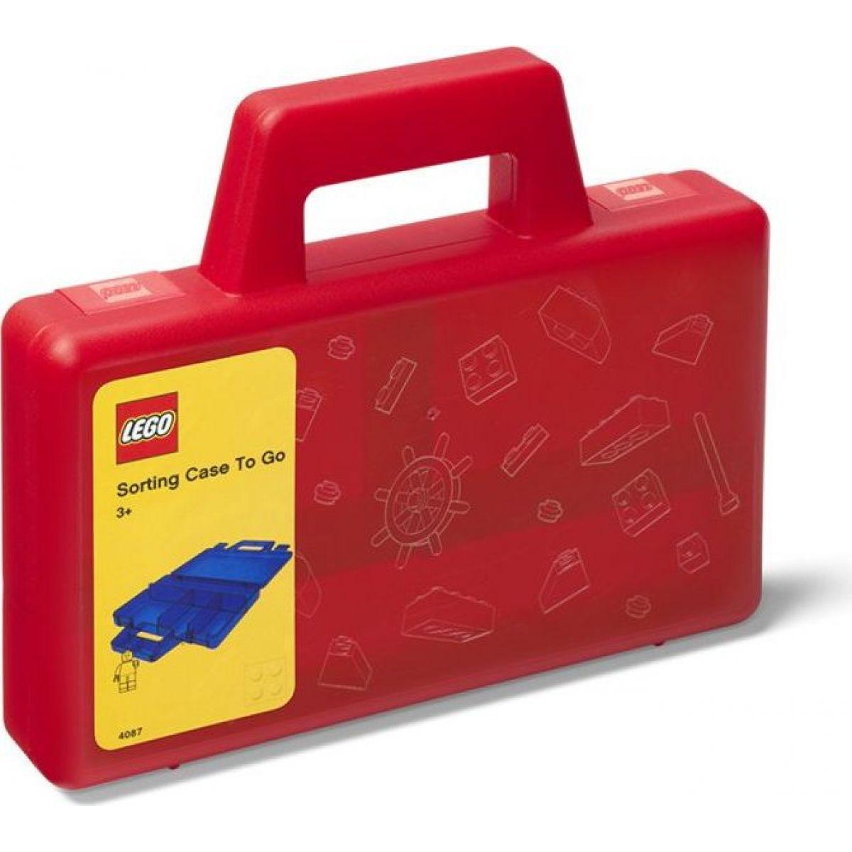 Fotografie LEGO® úložný box TO-GO červená